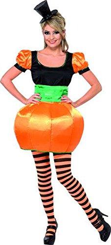 Kostüm Kürbis orange und schwarz Größe (Noir Orange Et Halloween Kostüm)