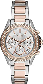 Armani Exchange Lady Drexler Women's Silver Dial Stainless Steel Analog Watch - AX5653, Multic