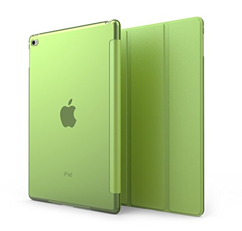 Cover iPad Mini 4 - KHOMO Custodia Verde e Trasparente Doppia Smart Cover piú Back Cover Dual Case Ultra Sottile e Leggera con Supporto per il Nuovo Apple iPad MINI 4