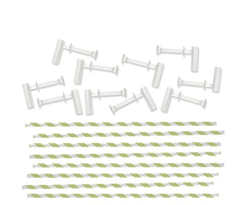 We R Memory Keepers Pinwheel Attachments 10 Pack - Kiwi -