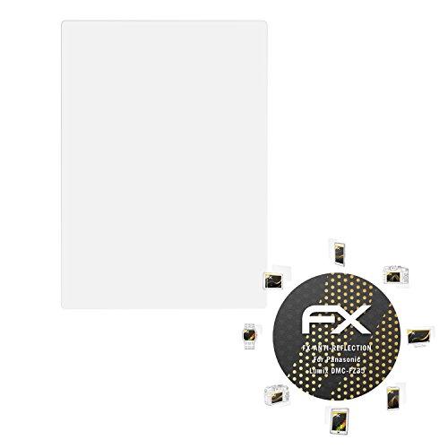 atFoliX Schutzfolie für Panasonic Lumix DMC-FZ35 Displayschutzfolie - 3 x FX-Antireflex blendfreie - Panasonic Fz35 Lumix