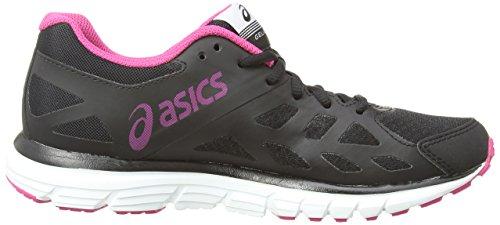 Asics Gel-Zaraca 3, Scarpe sportive, Donna Nero (Onyx/Hot Pink/Nectarine)