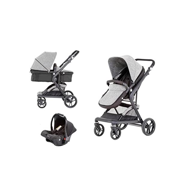 Baby Elegance Mist Travel System 3-In-1 prams with car seat