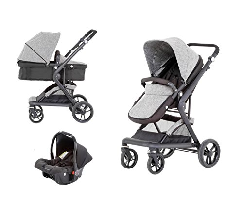 Baby Elegance Mist Travel System 3-In-1 prams with car seat  Baby Elegance Mist Travel System 3-In-1 41FWnENJnUL