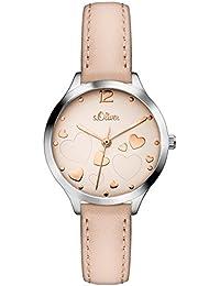 s.Oliver Damen-Armbanduhr SO-3243-LQ