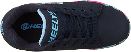 Heelys Unisex-Kinder Propel Sneakers Mehrfarbig (Navy / Pink Light Blue Confetti)