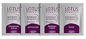 Lotus Herbals Radiant Diamond Facial Kit,37g