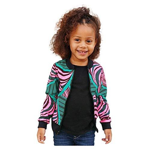 Muster Baby Kostüm Kostenlose - Baby-Mädchen Jacke Dasongff Ethnisch Stil Drucken Sweatshirt Kuschelig Sweatjacke Collegejacke Mädchen Kinder Kleidung Suits