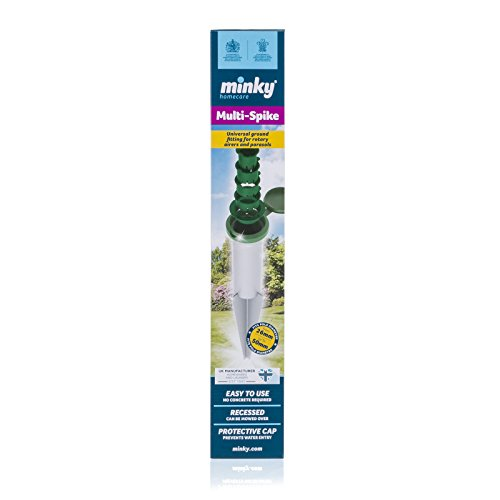 Minky Multi Spike Outdoor Rotary Airer Accessory 26mm-50mm Best Price and Cheapest