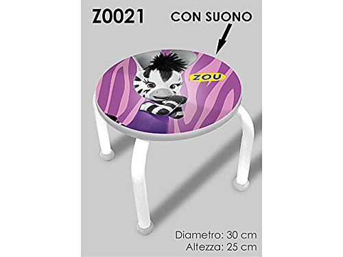 Cebra Zou taburete C/Sonido z0021