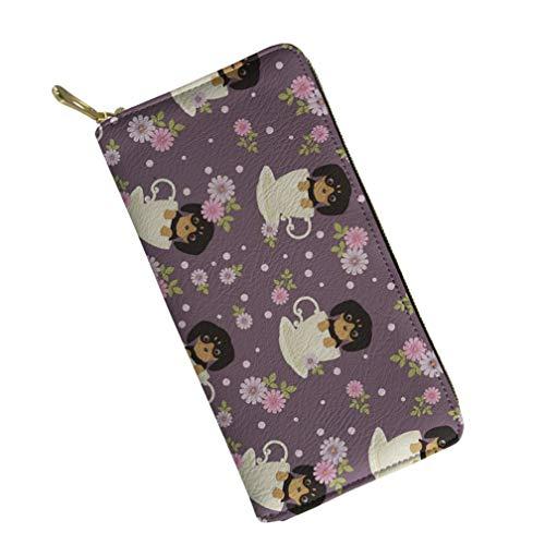 UFDIS, Damen Damen-Geldbörse Mehrfarbig Rottweiler Puppy (P2049) Einheitsgröße (Rottweiler Geldbörse)