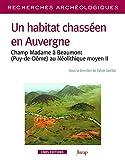 Un habitat chasséen en Auvergne. Champ Madame a Beaumont, au Néolithique moyen II - numéro 11