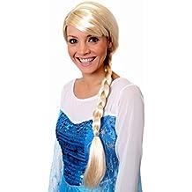 I Love Fancy Dress. ilfd2169Rubio Trenzada Peluca (Talla única)