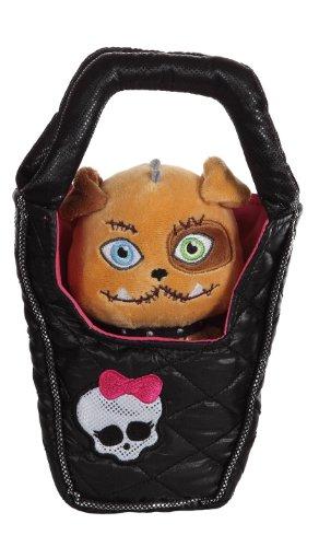 Gipsy 767487 - Monster High Plüschtier Hund in Handtasche - Frankie Stein, 25 ()