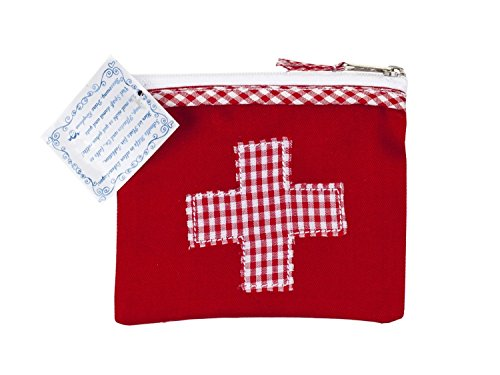 mini-farmacia-borsina-porta-medicinali-100-cotone-rosso-con-stampa-a-quadrettoni-e-ricamata-a-puntoc