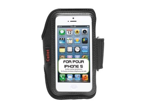 Cellet Armband für Apple iPhone 5 / 5S / 5C / SE, 33 cm (13 Zoll) Armband und Schlüsseltasche, Neopren (Iphone 5s Verizon)