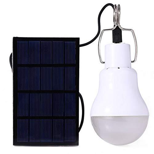 LRXHGOD Solarleuchten Tragbare Led-Lampe Lampe Solarenergie Lampen Beleuchtung Solarpanel Camp Nightfair Travel Verwendet 5-6 Stunden -