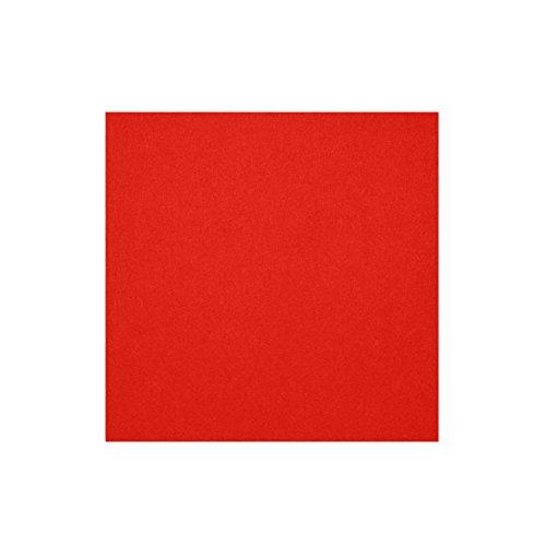 daff Filz Tischset Quadratisch aus Merino-Wolle 33x33 cm cherry