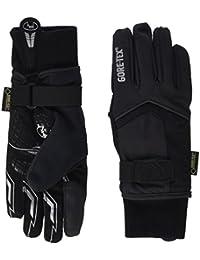 Roeckl Rigoli GTX–Guantes de ciclismo para invierno, largos, color negro, color negro, tamaño 9