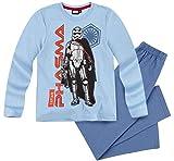 Star Wars Pyjama Jungen Schlafanzug Captain Phasma (Blau, 152)