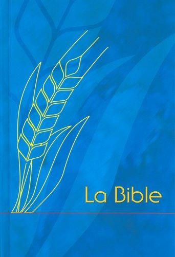 Bible Semeur Famille, couverture rigide quadri bleu