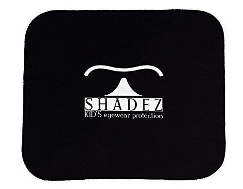Shadez SHZ Cloth – Chiffon pour lunettes de soleil Baby, Junior et Teeny Aces, Taille unique 0 – 8 + ans, Couleur noir