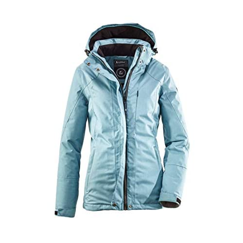 41FWudXvu L. SS500  - killtec Women's Zala Functional Jacket with Zip-Off Hood