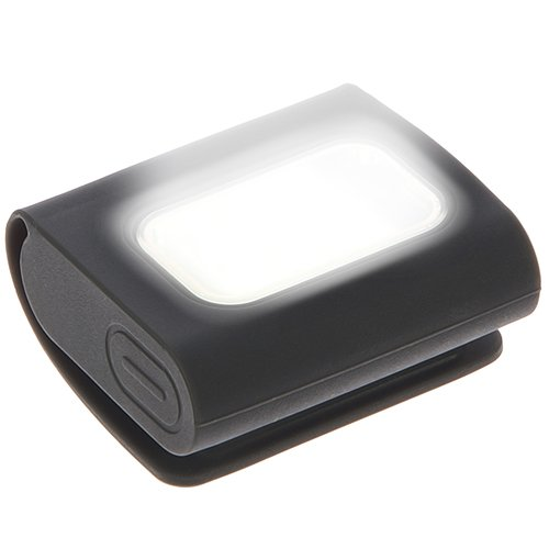 Luce di sicurezza LED | Chiusura magnetica per agganciare la luce al corpo, alla bici, al collare del cane | Adatta per corsa e tanti altri sport | Compatta, leggera, con batteria ricaricabile USB