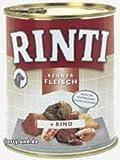 Rinti Pur Kennerfleisch Junior Huhn für Hunde, 12er Pack (12 x 800 g)