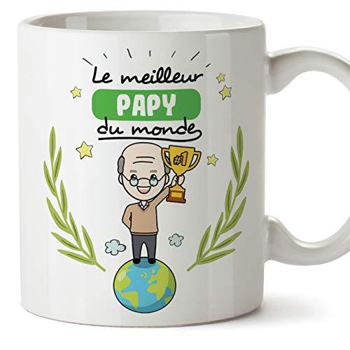 Mugffins Papi Tasse/Mug - Le Grand-Père du Monde - Tasse...