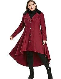 64bf1f577b2d Amazon.co.uk: RoseGal - Coats / Coats & Jackets: Clothing