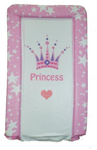Luxuriöse Mädchen PVC Wickelunterlage - Krone Prinzessin