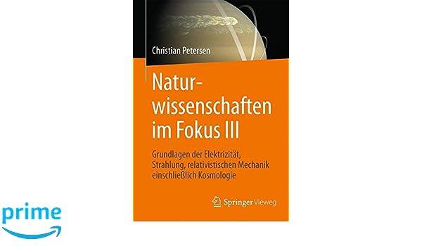 Naturwissenschaften im Fokus III: Grundlagen der Elektrizitat ...