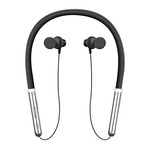 Changseo Q30 - Auriculares inalámbricos con Bluetooth y Auriculares estéreo, Negro