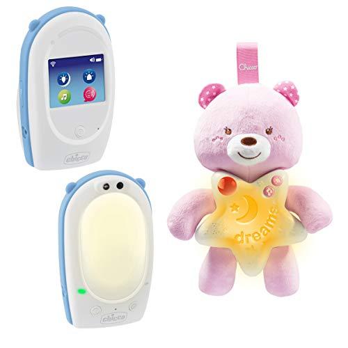 Chicco 00009380100000écoute-bébé Audio Top + luce notturna piccolo orsetto