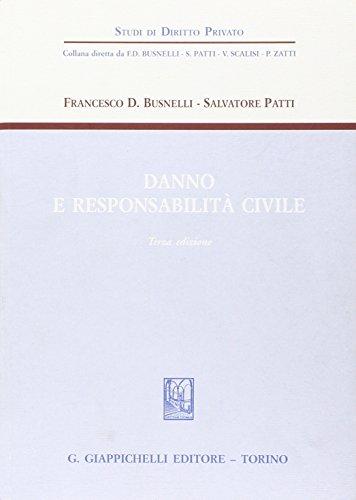 Danno e responsabilit civile
