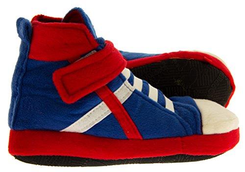 De Fonseca Mädchen Basketballturnschuhen Pantoffel Stiefel Blau,rot