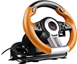 Speedlink DRIFT O.Z. Racing Wheel for PC (Vibration, pédales d'accélérateur et de...
