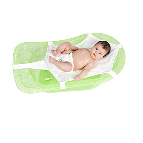 Baby Badenetz Babywanne Netz - Dieses Badewannennetz lässt sich bequem und einfach universell anbringen und erleichtert das Baden und Waschen von einem Baby in einer Wanne