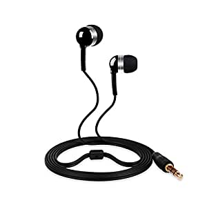 Betron B630 Sound Isolating Dynamic Driver Earphones with improved Bass for Ipods, Ipads , MP3 and MP4 players with 3.5mm Jack , Black