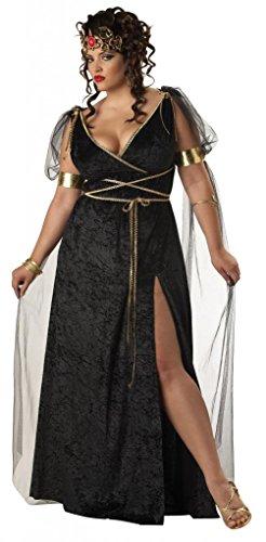 Medusa Griechische Göttin Kostüm Karneval Verkleidung Damen Dress 18 to 20 (Poseidon Kostüme Kinder)