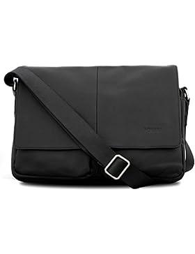 Bovari Messenger Bag Schultertasche Umhängetasche London- small - unisex - Limited Premium Edition - 35x27x8cm...