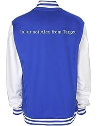 LOL Ur no Alex de objetivo Varsity chaqueta