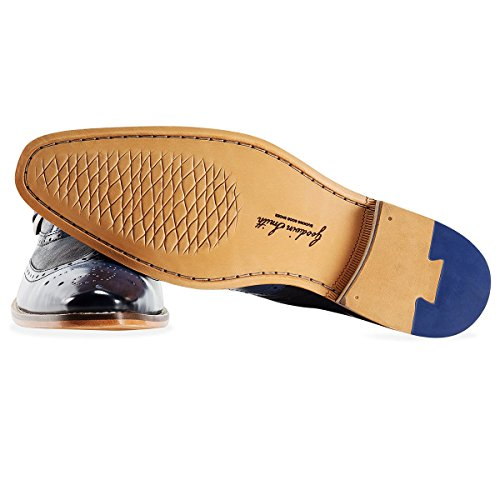 Goodwin Smith Buckley Monkstrap Homme Mocassin Navy