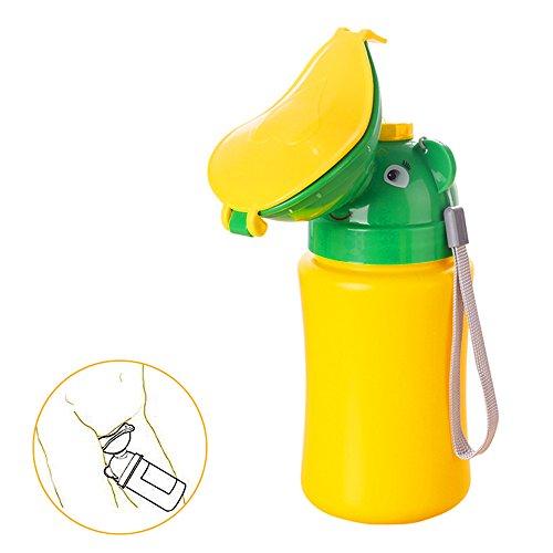 Baby Girl Boy Töpfchen Urinal Cute tragbar Kinder Töpfchen Urinal Training Flasche Pee Notfall-WC für Camping Auto Reise, mädchen (Einweg Seat Cover Kinder)