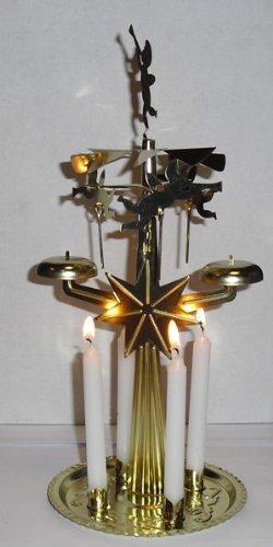 Lichter-Glocken-Spiel mit 4 Kerzen