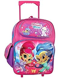 Nickelodeon Shimmer and Shine Large Rolling Backpack by Nickelodeon