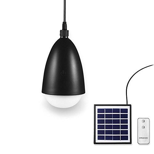 Mr. Twinklelight tragbare Camping-Zeltlampe. Tragbare LED-Licht-Solarstrahlerlampe mit Touchdimmer und Fernbedienung.