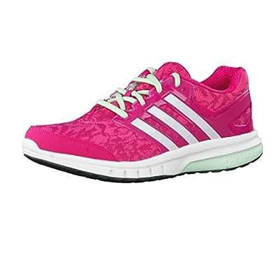 adidas Galaxy Elite 2 Womens Running Trainer Shoe Pink - UK 4