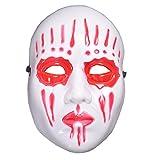 HuaCat Masques Blancs Intégraux pour,décorer et Concevoir Idéal pour Halloween,...